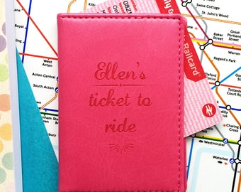 Railcards For Gift Cards Ivory Faux Suede Travel Card Case Bus Pass