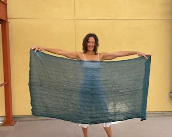 DEVOTION SCARF - Beautiful soft cotton wrap - Autumn scarf