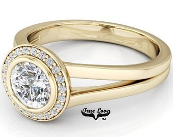 Yellow Gold Engagement