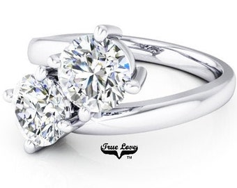 New 2 Stone Engagement