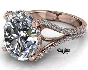 Moissanite Engagement Ring #8369