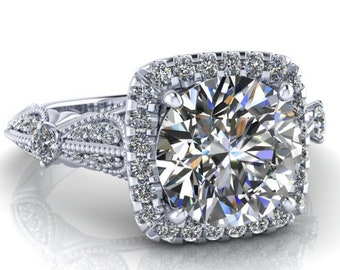private Lay away payment  #2 for corybuono for ring 1.5 ct DE colorless  number #7195 LA