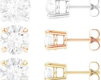 14kt   Diamond Earrings
