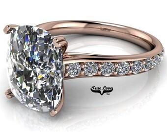 Rose Gold  Engagement