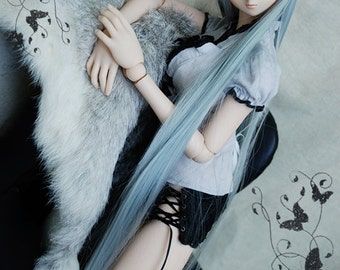 BJD SD DD 1/3 Gray Top/Blouse - ONT130851SIGR