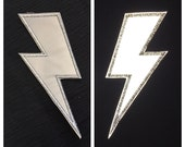 Retro-Reflective Lightning Bolts Patches