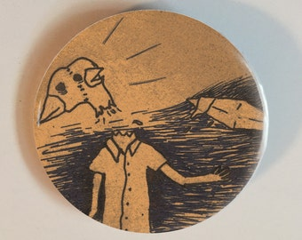 Two-Headed Bird-Man Must Be Stopped button