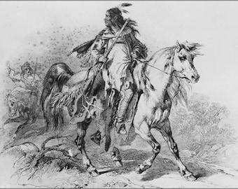 Blackfoot indian | Etsy
