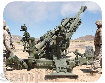 Mouse Pad; M777 Howitzer
