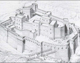 Poster, Many Sizes Available; Krak Des Chevaliers Castle Knights Hospitaller Crusade