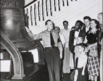 Poster, Many Sizes Available; Liberty Bell 1951