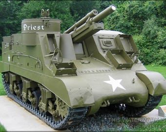 Poster, Many Sizes Available; M7 Priest