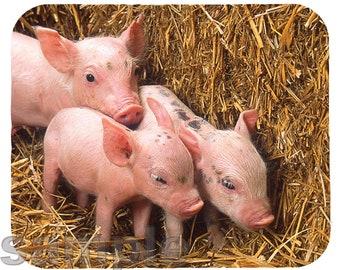 Mouse Pad; Piglets