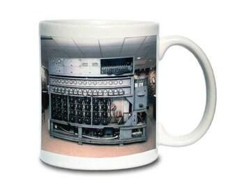 Coffee Mug; Navy Bombe Used To Decrypt The German Enigma Machine