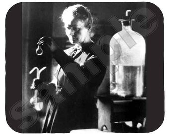Mouse Pad; Marie Curie