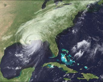 Poster, Many Sizes Available; Hurricane Katrina Hits New Orleans.Jpeg_Files