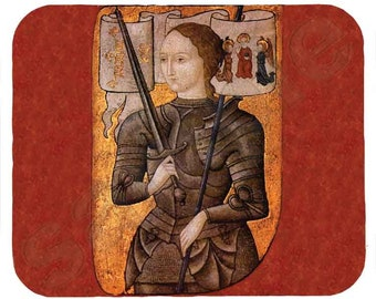 Mouse Pad; Joan Of Arc