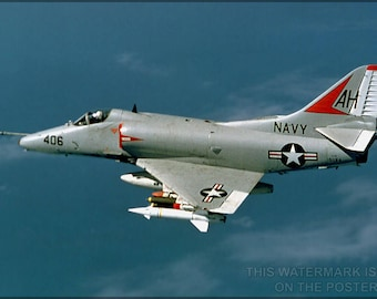 Poster, Many Sizes Available; A-4 Skyhawk