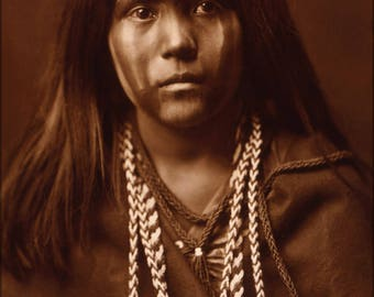 Poster, Many Sizes Available; Mojave Girl Native American Indian Girl 1903