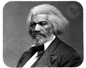 Mouse Pad; Frederick Douglass