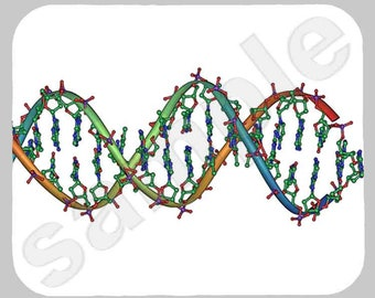 Mouse Pad; Dna Double Helix