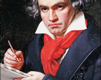 Poster, Many Sizes Available; Ludwig Van Beethoven