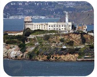 Mouse Pad; Alcatraz