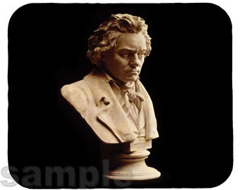 Mouse Pad; Ludwig Van Beethoven Mp2