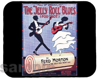 Mouse Pad; Jelly Roll Blues In 1915, The First Jazz Work In Print