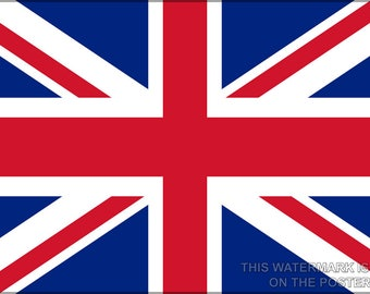 Poster, Many Sizes Available; Union Jack