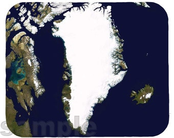 Mouse Pad; Greenland Sat