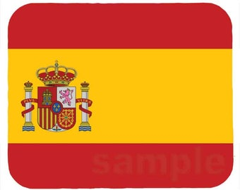 Mouse Pad; Flag Of Spain