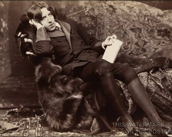 Poster, Many Sizes Available; Oscar Wilde