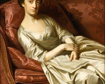 Poster, Many Sizes Available; John Singleton Copley - Portrait Of A Lady #031715