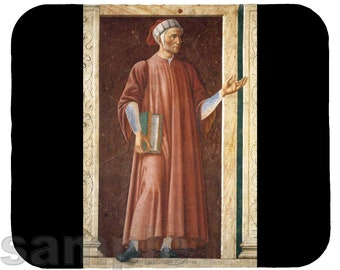 Mouse Pad; Dante Alighieri
