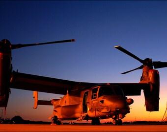 Poster, Many Sizes Available; Mv-22 Osprey At Hurlburt Field