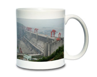 Coffee Mug; Three Gorges Dam, A Hydroelectric Dam