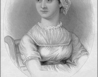 Poster, Many Sizes Available; Jane Austen, From A Memoir Of Jane Austen P2