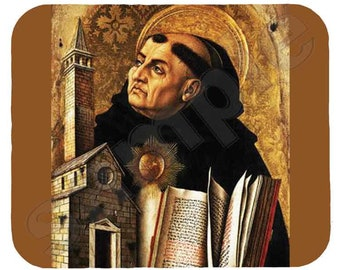 Mouse Pad; Thomas Aquinas Saint