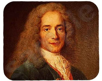 Mouse Pad; Voltaire