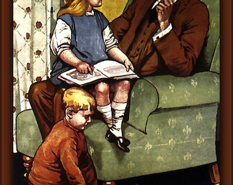 Poster, Many Sizes Available; Daddy, What Did You Do In The Great War, By Savile Lumley  1917