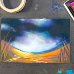 Highland Drama - online pastel painting workshop tutorial - suitable for all levels
