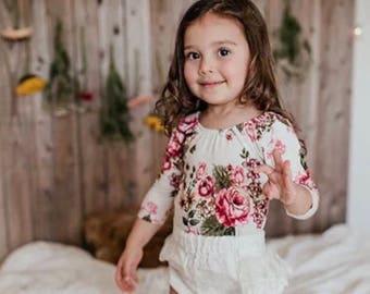 Ashley Floral Bodysuit
