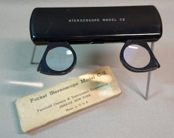 Fairchild Pocket Stereoscope Model C2