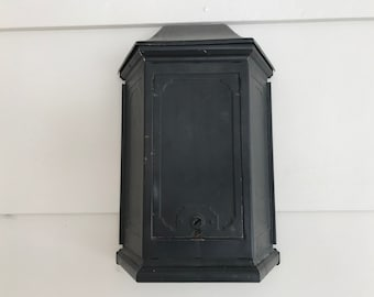 Tudor Mailtainer Mailbox by P.N. Company, Fulton, IL 1930s Charm!