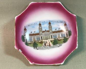 1904 St. Louis World's Fair Porcelain Dish Machinery Building
