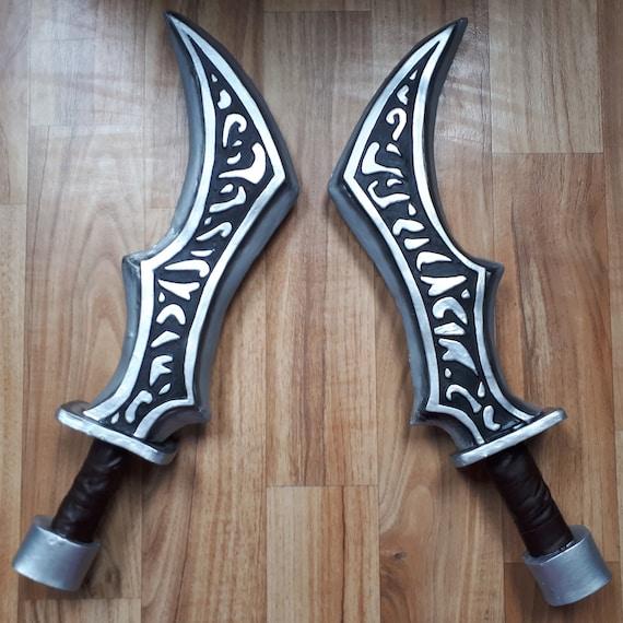 Katarina League of Legends inspired daggers swords weapon cosplay replica  prop blades