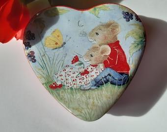 I Love You Becky Mini Heart Tin Gift For I Heart Becky With Chocolates