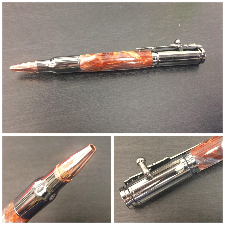 Custom 30 Caliber Bolt Action Pen Or Pencil Etsy