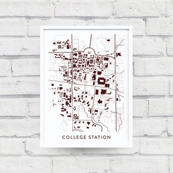 COLLEGE STATION TX Map Print / Texas A&M University Gifts / Texas A+M on jonesboro texas map, chattanooga texas map, rice university texas map, bryan texas map, cisco texas map, tyler texas map, new braunsfels texas map, auburn texas map, gonzales texas map, texas a&m university campus map, livingston texas map, lufkin texas map, all universities texas' map, texas state university texas map, austin texas map, fort worth texas map, seattle texas map, fort smith texas map, lubbock texas map, california texas map,